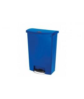 SLIM JIM 90L FS RESIN STEP ON BIN BLUE