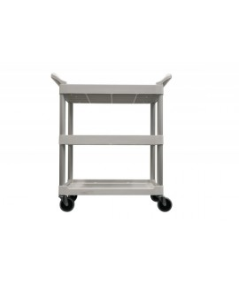 UTILITY CART 3424 SWIVEL CASTORS WHITE