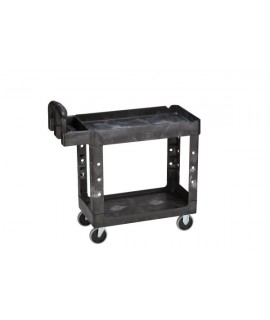 HEAVY DUTY UTILITY CART LIPPED SHELF M