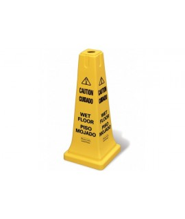 "SAFETY CONE 25"" W/MULTI-LINGUAL I"