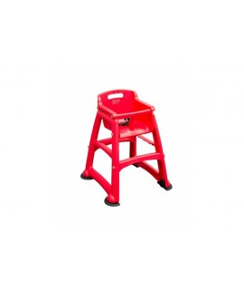 STURDY CHAIR RED