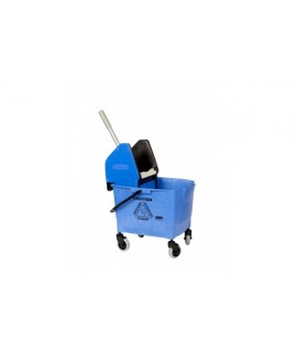 MOBILE BUCKET & WRINGER 25L, BLUE