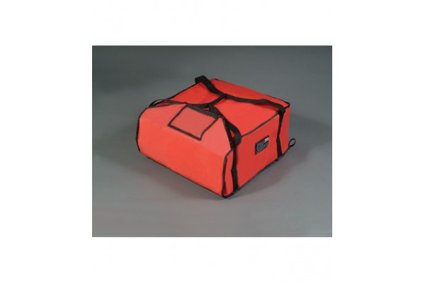 PIZZA DELIVERY BAG (LARGE) RED