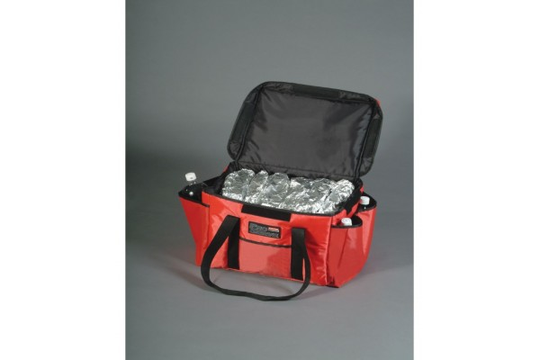 PIZZA SANDWICH DELIVERY BAG RED