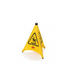 CAUTION SIGN WET FLOOR 51CM YELLO