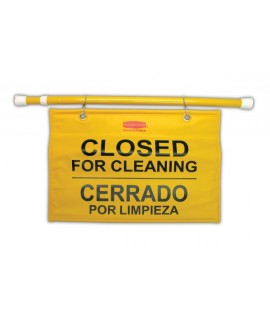 SIGN CLOSED FOR CLEANING MULTI-LI