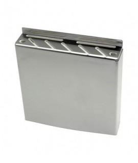 Stainless Steel Wall Fix Knife Box 30 x 32 x 6.5cm