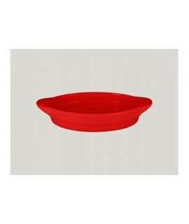 Oval platter - ember
