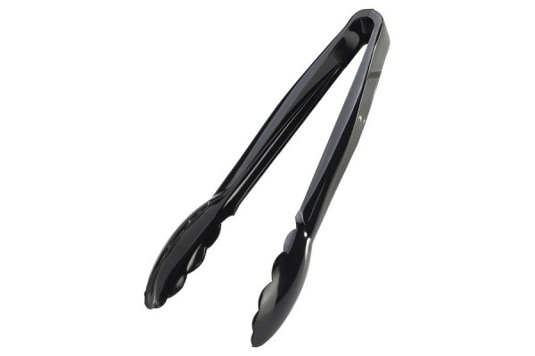 "Utility Tongs 9"" Black"