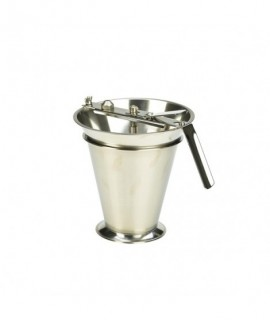 Stainless Steel Drizzler (Fondant Funnel) 1350ml Capacity