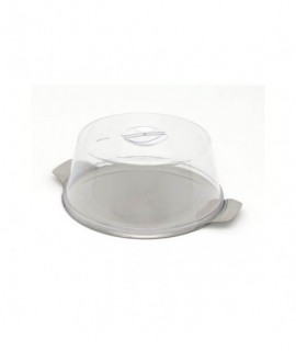 "Stainless Steel 12""Cake Plate (Plate Only)"