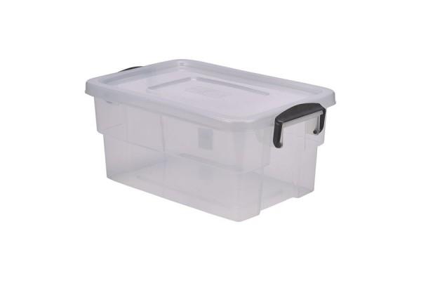 Storage Box 13L W/ Clip Handles