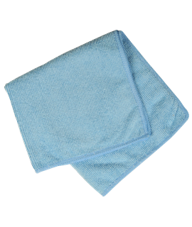 MICRO FIBRE CLOTH - BLUE (PACK-10)