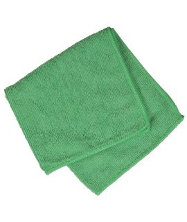 MICRO FIBRE CLOTH - GREEN (PACK-10)
