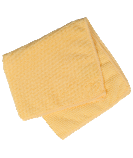MICRO FIBRE CLOTH - YELLOW (PACK-10)