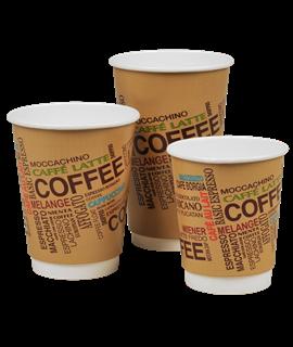 8OZ CAFE MOCHA HOT DRINKS CUP (CTN-1000)