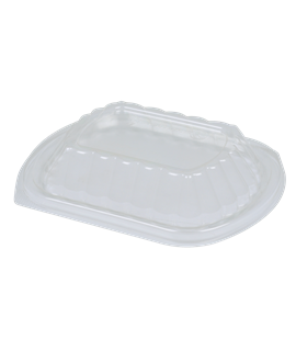 CLEAR LID FOR LARGE BLACK BIRD CONTAINER (200)