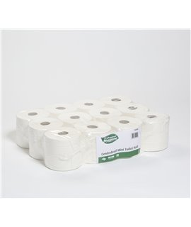 CENTREFEED MINI TOILET ROLL 112M X 13.6CM (PACK-12)