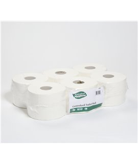 CENTREFEED TOILET ROLL 200M (PACK-6)