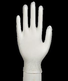 LATEX POWDERFREE CLEAR GLOVE XL (100)