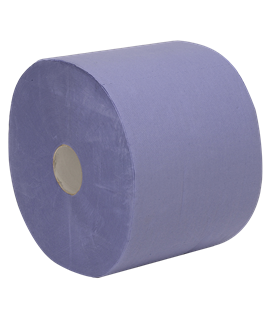 ECONOMY BLUE CENTREFEED ROLL (PACK-6)