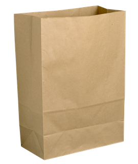 "7"" BROWN PAPER TAKEAWAY BAG KS1A (PK-250)"