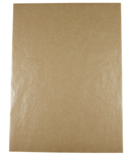 GREASEPROOF SHEETS BROWN 25 X20CM (PK-1000)