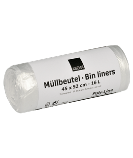 FLAT PEDAL BIN LINERS (CTN-1000)
