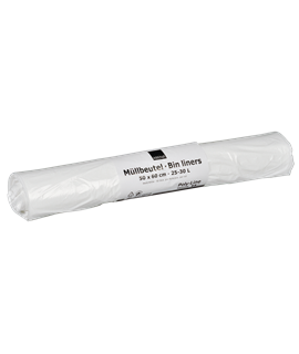 SWING BIN LINER WHITE HD 25 X 30CM CTN-500