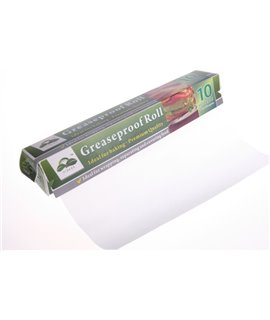 GREASEPROOF PAPER ROLL 380MM X 50M