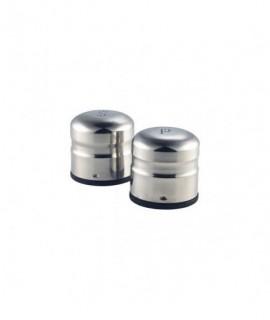 Stainless Steel Jumbo Condiment (S&P Pair) 65X75mm