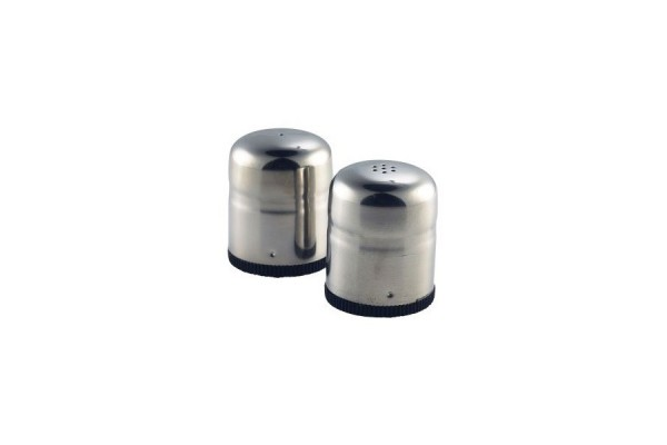 Stainless Steel Mini-Jumbo Condiment(S&P Pair)45X50mm