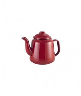 Enamel Teapot Red 1.5L
