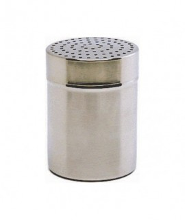 Stainless Steel Shaker With Large 4mm Hole.(Plastic Cap)