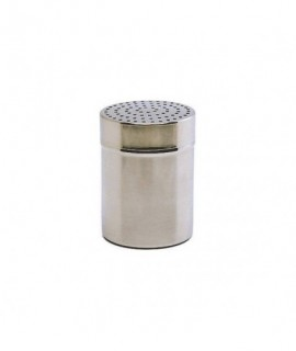Stainless Steel Shaker Small 2mm Hole (Plastic Cap)