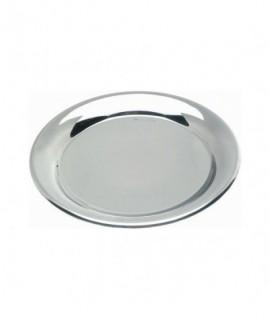 "Stainless Steel Tips Tray 5.1/2""Diameter (140mm)"