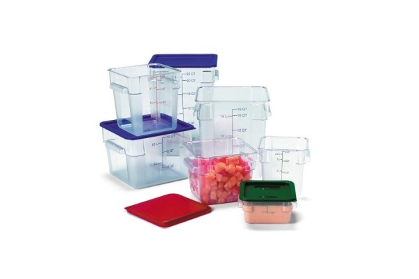 Lid Square Container 1.9/3.8L Green
