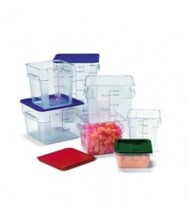 Lid Square Container 11.4/17.1/20.9L Blue