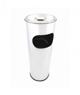 Genware Stainless Steel Floor Standing Ashtray/Bin