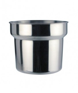 Stainless Steel Bain Marie Pot 4.2 Litre
