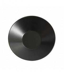 Luna Soup Plate 23 X 5cm H Black Stoneware