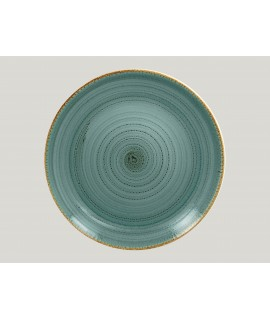 Flat coupe plate - lagoon