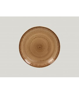 Flat coupe plate - shell