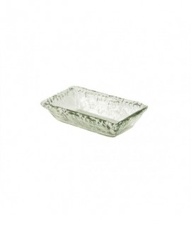 Glass Rectangular Bowl 21x13x5cm