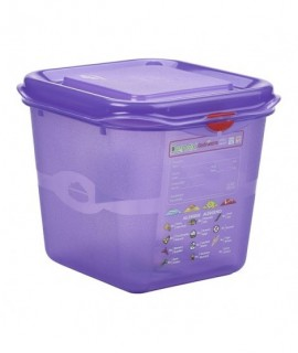 Allergen GN Storage Container 1/6 150mm Deep 2.6L
