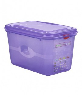 Allergen GN Storage Container 1/4 150mm Deep 4.3L