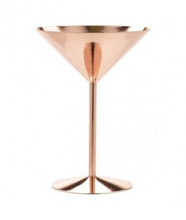 Copper Martini Glass 24cl/8.5oz