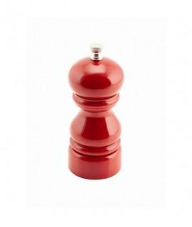 Genware Salt Or Pepper Grinder Red 12.7cm